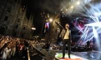 Nek in concerto al Capodanno di Sanremo