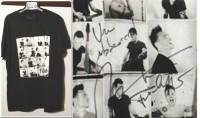 Nek's Filgood t-shirt auction for orphans in Nairobi