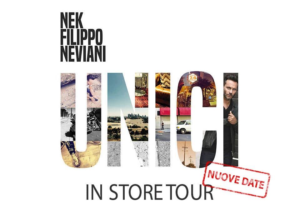 Nek Unici inStore tour 2016